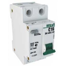 DEKraft ДИФ-103 Дифференциальный автоматический выключатель 1Р+N 16А 30мА AC (С) 4,5кА со встроенной защитой от сверхтоков