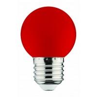 Horoz Electric 001-017-0001 Светодиодная лампа 1W E27 Красная