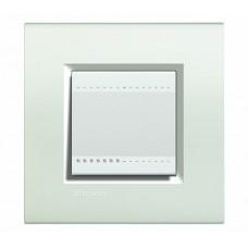 BT LL Белый Рамка прямоугольная, 2 мод