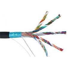 IEK ITK Кабель связи витая пара F/UTP, кат.5E 100х2х24AWG solid, LDPE, 305м, черный