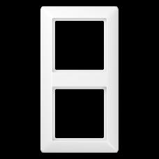 JUNG AS 500 Белая Рамка 2-ая