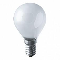 IEK Лампа накаливания G45 шар матов. 60Вт E27