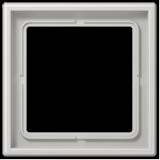 JUNG LS 990 Светло-серая Рамка 1-ая