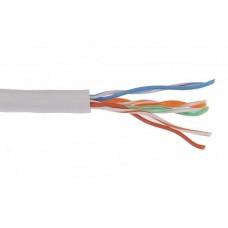 IEK ITK Кабель связи витая пара U/UTP, кат.6 4х2х23AWG solid, PVC, 305м, серый