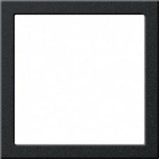 Gira S-55 Черный матовый Монтажная рамка