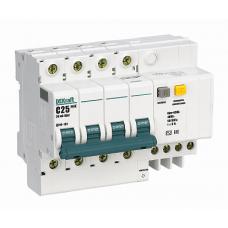 DEKraft ДИФ-101 Дифференциальный автоматический выключатель 3P+N 25А 30мА AC (С) со встроенной защитой от сверхтоков