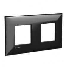 "DKC Avanti ""Черный квадрат"" Рамка ARTLEBEDEV 4 мод."