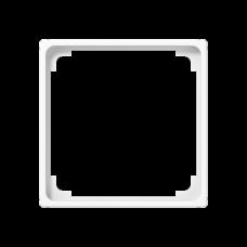JUNG A 500 Белая Рамка промежуточная для монтажа изделий с крышкой 50х50