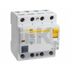 IEK Выключатель дифференциальный ВД1-63 (УЗО) 4Р 32А 300мА