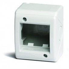 DKC Коробка монтажная настеннная для ЭУИ VIVA IP 40 (2 мод.)