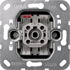 Gira Мех Переключатель кнопочный 1-клавишный