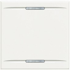 BT Axolute White Клавиша без символа, 2 модуля