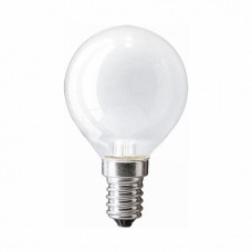 PH Лампа накаливания шар Stan 25W E14 230V P45 FR 1CT/10X10