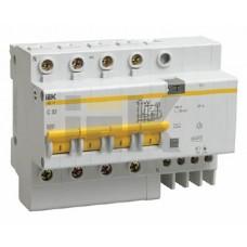 IEK Дифференциальный автоматический выключатель АД14 4Р 25А 30мА
