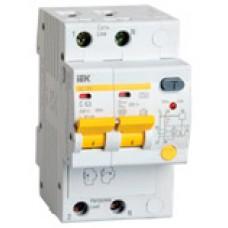 IEK Дифференциальный автоматический выключатель АД12М 2Р С32 30мА
