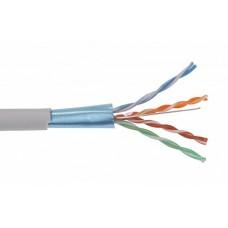 IEK ITK Каб. вп F/UTP, кат.6 4х2х23AWG solid LDPE 305м чер.