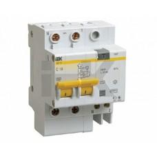 IEK Дифференциальный автоматический выключатель АД12 2Р 50А 300мА