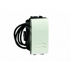 DKC Brava Черный Выключатель с подсветкой 1 мод