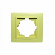 ABB Zena оливковая рамка 1 постовая