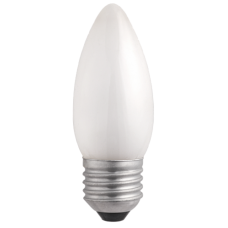 Jazzway Лампа накаливания B35 240V 60W E27 frosted