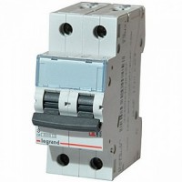 Legrand TX3 Автоматический выключатель 2P 6A (B) 6000/10kA