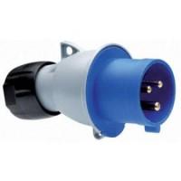 ABB Вилка кабельная ICAT 32A, 2P+E, IP44