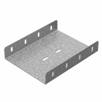OSTEC Соединитель боковой к лоткам УЛ 100х100 (1,5 мм)