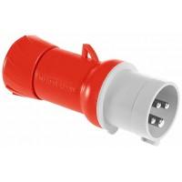 SE PratiKa Вилка кабельная, винтовой зажим, 32А 3P+E IP44 380В