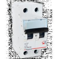 Legrand TX3 Автоматический выключатель 2P 63A (С) 6000