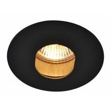 Arte Lamp Accento Черный Светильник точечный встаиваемый 1x50W 1xGU10; 1xG5,3