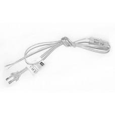 Zamel Бесцветный Шнур питания с выключателем и вилкой 1,9м 2,5А (SP/W)