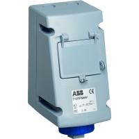 ABB RPM Розетка с ВА 216RPM6W, 16А, 2Р+Е, IP67, 6ч