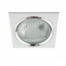 Lightstar Pento Белый/Белый/Прозрачный Встраиваемый светильник Pento 213120 E27 2х15W IP20