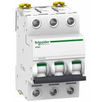 SE Acti 9 iC60H Автоматический выключатель 3P 0.5А (B) 10кА