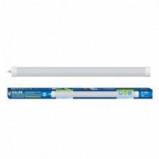 Volpe Светильник LED влагозащищенный накладной, белый свет 4000K. корпус белый.