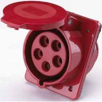 DEKraft РЩ-102 Розетка для скрытой проводки 425 3Р+РЕ+N 32А 380В IP44
