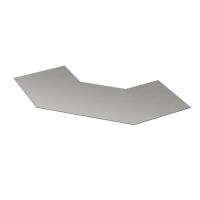 DKC Крышка 90 на угол горизонтальный 90° осн. 500, стеклопластик