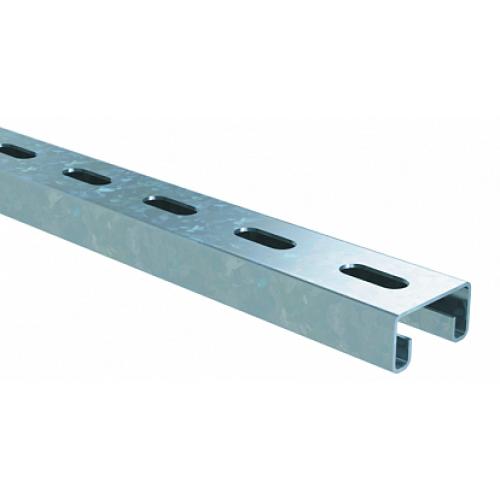 DKC С-образный профиль 41х21, L6000, толщ.2,5 мм, горячеоцинкованный
