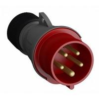 ABB Easy&Safe Вилка кабельная 432EP6,32А,3P+N+E,IP44,6ч