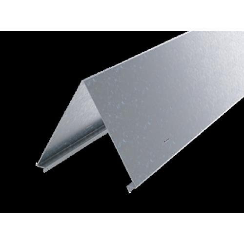 DKC Крышка двускатная 400, L1500, цинк-ламель