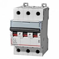 Legrand DX3-E Автоматический выключатель 3P 10А (С) 6000/6kA