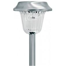 Navigator Светильник LED садовый столбик 1W сталь+пластик на солнечной батарее 105x340