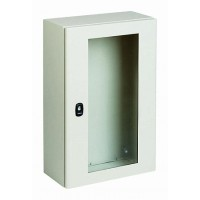 SE S3D Шкаф с прозрачной дверью 600х600х250