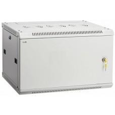 IEK ITK Шкаф LINEA W 6U 600x450 мм дверь металл, RAL7035