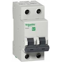 SE EASY 9 Автоматический выключатель 2P 6A (C)