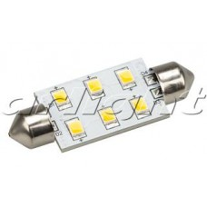 Arlight Автолампа ARL-F42-6E Warm White (10-30V, 6 LED 2835)
