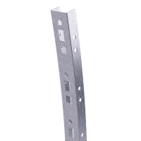 DKC Профиль криволинейный, L1005, толщ.2,5 мм, на 8 рожков, цинк-ламель