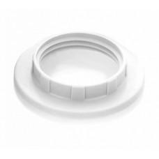 IEK Кольцо к патрону, пластик, Е14, белый
