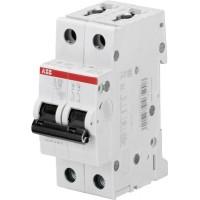 ABB S202 Автоматический выключатель 2P 50А (С) 6kA