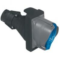 Legrand Hypra Мобильная розетка IP 44/55 2К+З 63 А пластик/резина